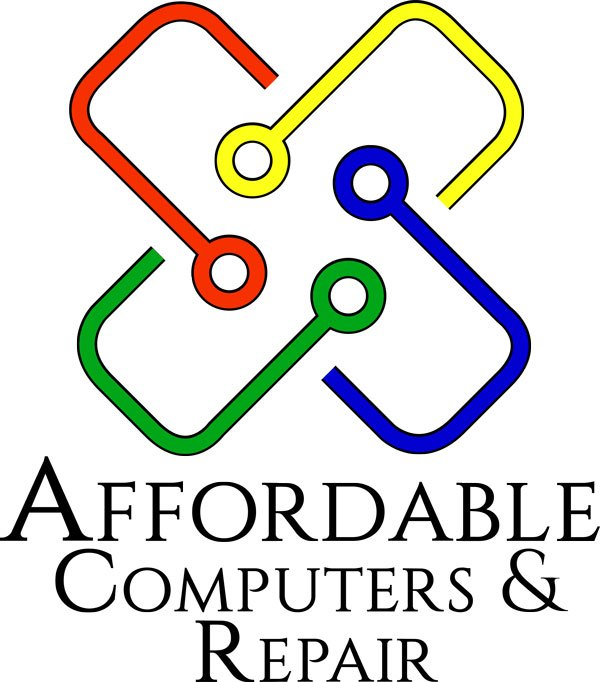 Affordable Computers Wordmark Logo